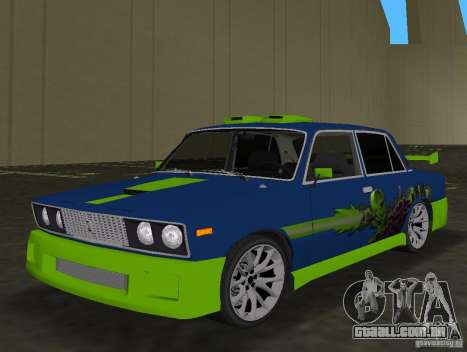 VAZ 2106 Tuning v 3.0 para GTA Vice City