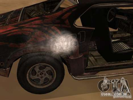 Car from FlatOut 2 para GTA San Andreas traseira esquerda vista