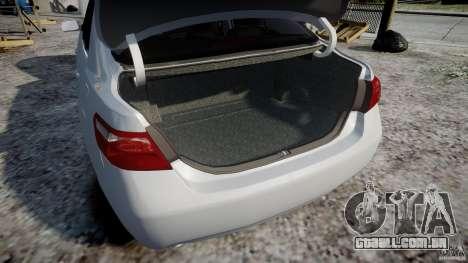 Toyota Camry 2007 (XV40) v1.0 para GTA 4 vista inferior
