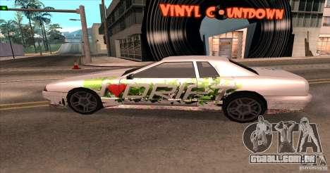 Paintjob for Elegy para GTA San Andreas vista direita
