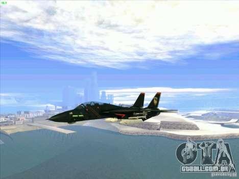 F-14 Tomcat Razgriz para GTA San Andreas vista interior