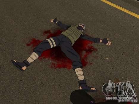 Hatake Kakashi From Naruto para GTA San Andreas segunda tela