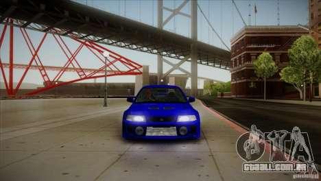 Mitsubishi Lancer Evolution lX para GTA San Andreas vista interior