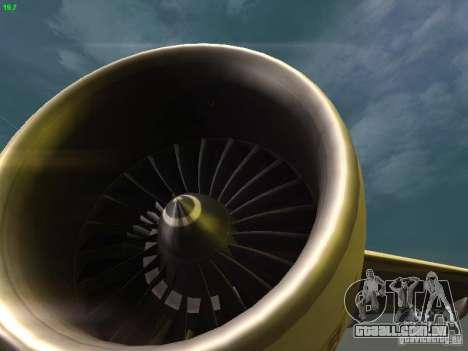 Boeing 777-200 KLM Royal Dutch Airlines para GTA San Andreas vista superior