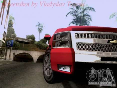 Chevrolet Cheyenne Single Cab para GTA San Andreas vista traseira
