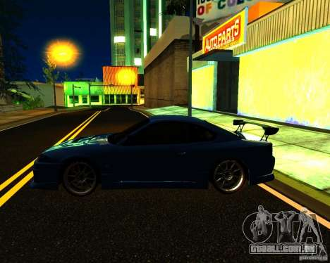 Nissan Silvia C-West para GTA San Andreas vista superior