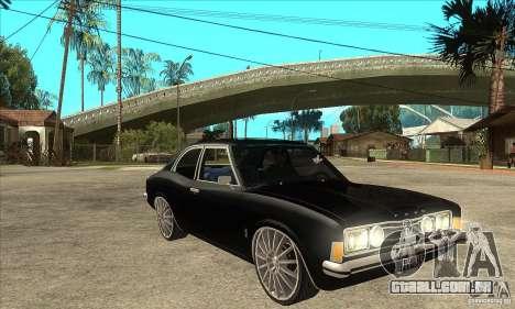 Ford Taunus Coupe para GTA San Andreas vista traseira