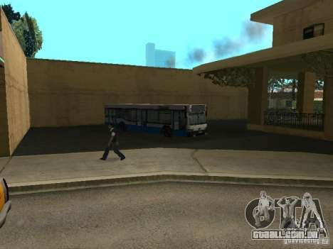 5 ônibus v. 1.0 para GTA San Andreas sexta tela