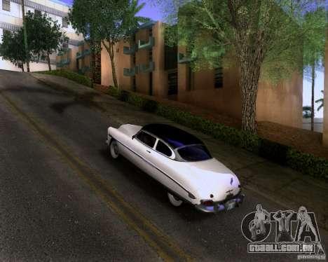 Hudson Hornet 1952 para GTA San Andreas esquerda vista