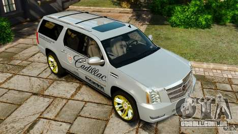 Cadillac Escalade ESV 2012 para GTA 4 motor