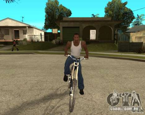 Diamondback strike Beta para GTA San Andreas vista traseira