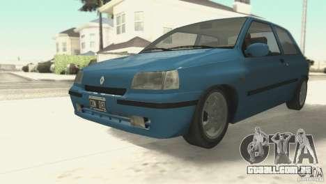 Renault Clio RL 1996 para GTA San Andreas esquerda vista