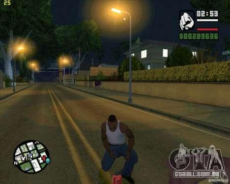 Dinamite para GTA San Andreas segunda tela