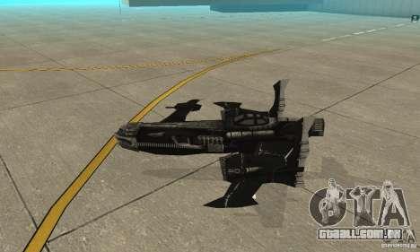 Hydra TimeShift Skin 2 para GTA San Andreas traseira esquerda vista