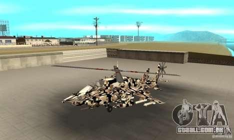 Hydra Hunter para GTA San Andreas