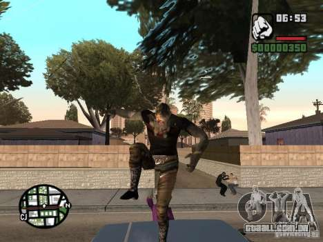 Zombe from Gothic para GTA San Andreas por diante tela