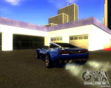 Exage para GTA San Andreas esquerda vista