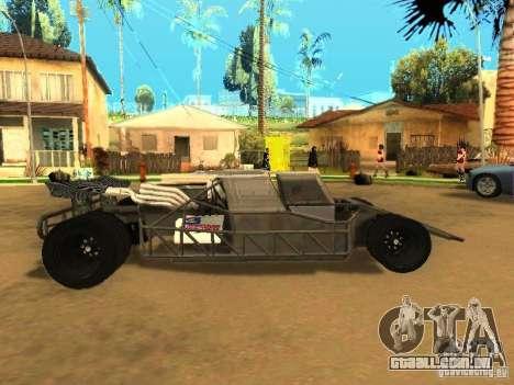 Fast & Furious 6 Flipper Car para GTA San Andreas vista interior