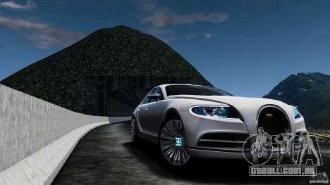 Bugatti Galibier 2009 para GTA 4 vista interior