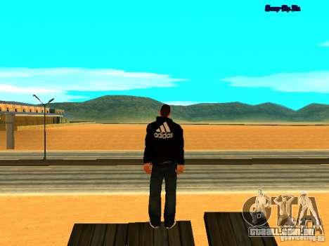 Novo skin para Gta San Andreas para GTA San Andreas por diante tela
