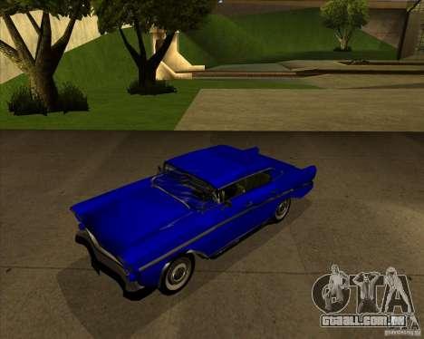 Hollywood para GTA San Andreas traseira esquerda vista