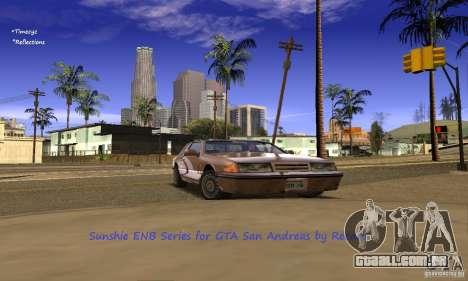 Sunshine ENB Series by Recaro para GTA San Andreas