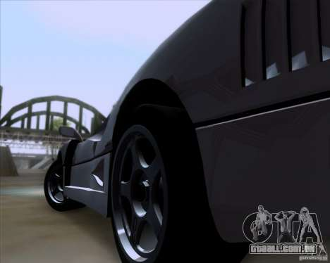 Ferrari F40 para GTA San Andreas vista direita