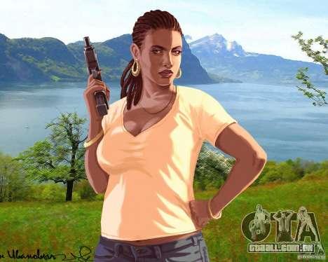Tela de boot Rússia na América para GTA 4 sexto tela