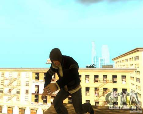 Alex Mercer ORIGINAL para GTA San Andreas segunda tela