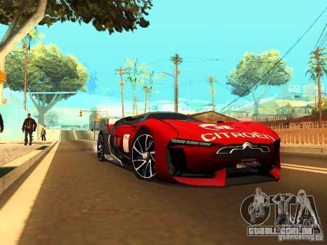 Citroen GT Gran Turismo para GTA San Andreas
