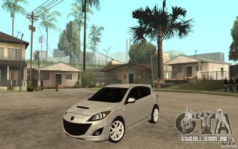 Mazda 3 Mazdaspeed 2010 para GTA San Andreas