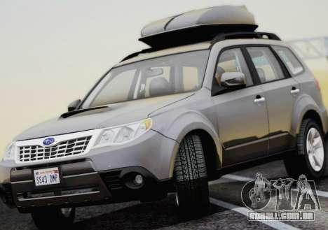Subaru Forester XT 2008 para GTA San Andreas vista direita