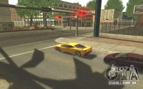 ENB v3.0 by Tinrion para GTA San Andreas quinto tela