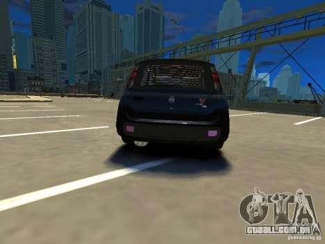 Fiat Novo Uno Sporting para GTA 4 traseira esquerda vista