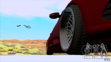 Volkswagen Sirocco para GTA San Andreas traseira esquerda vista