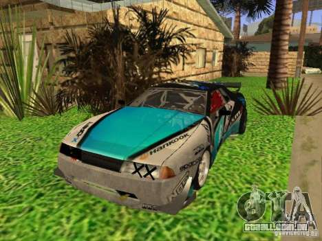 Elegy Drift Korch v2.1 para GTA San Andreas vista interior