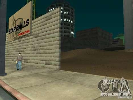 Novo Hospital-novo hospital para GTA San Andreas quinto tela