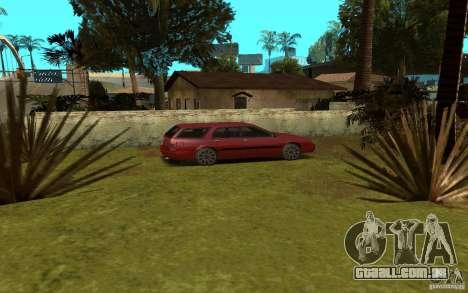 Carros esporte perto de Grove Street para GTA San Andreas quinto tela