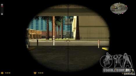 Cs 1.6 HUD v2 para GTA San Andreas segunda tela