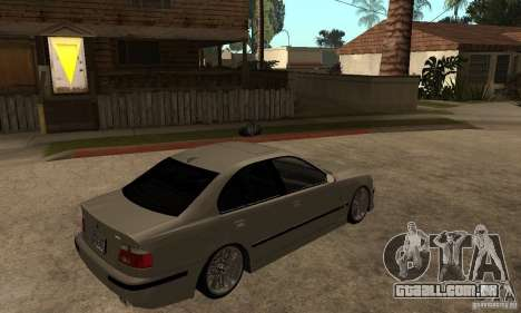 BMW E39 M5 Sedan para GTA San Andreas vista direita