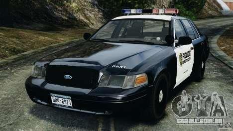 Ford Crown Victoria Police Interceptor 2003 LCPD para GTA 4