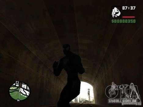 Inimigo do homem-aranha em reflexão para GTA San Andreas sétima tela