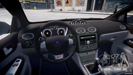 Ford Focus ST (X-tuning) para GTA 4 vista de volta