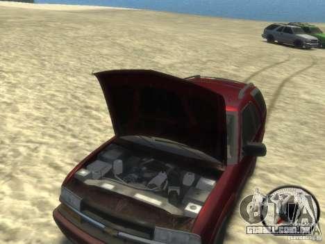 Chevrolet Blazer LS 2dr 4x4 para GTA 4 vista interior