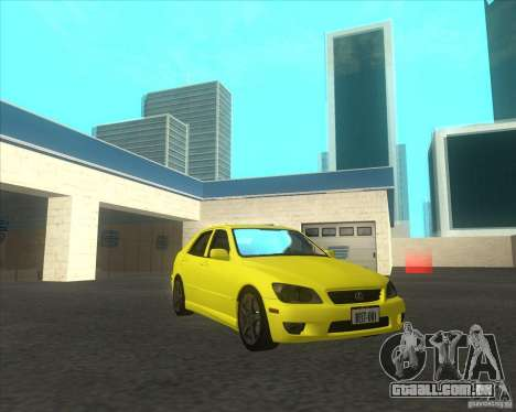 Lexus IS300 tuning para GTA San Andreas vista direita