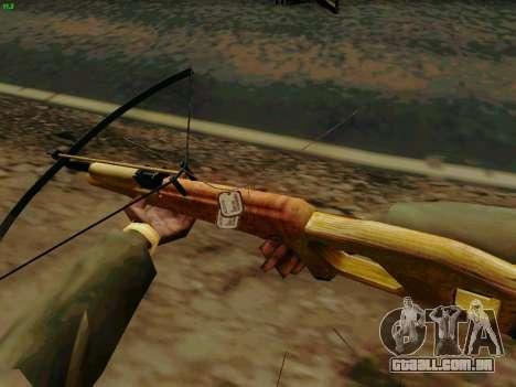 Uma besta de trabalho com as setas para GTA San Andreas terceira tela