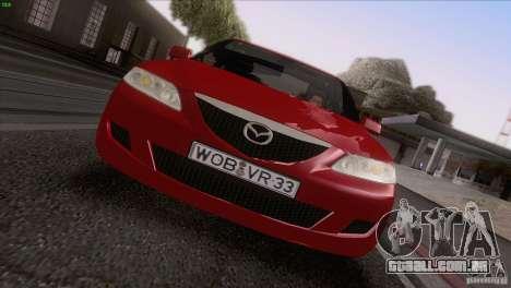 Mazda 6 2006 para GTA San Andreas vista superior