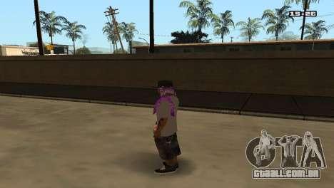 Skin Pack Ballas para GTA San Andreas terceira tela