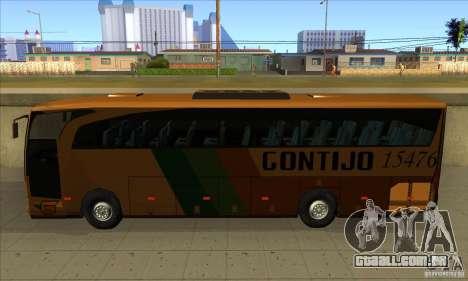 Mercedes-Benz Travego Gontijo para GTA San Andreas esquerda vista