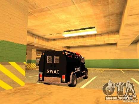 Swat III Securica para GTA San Andreas esquerda vista